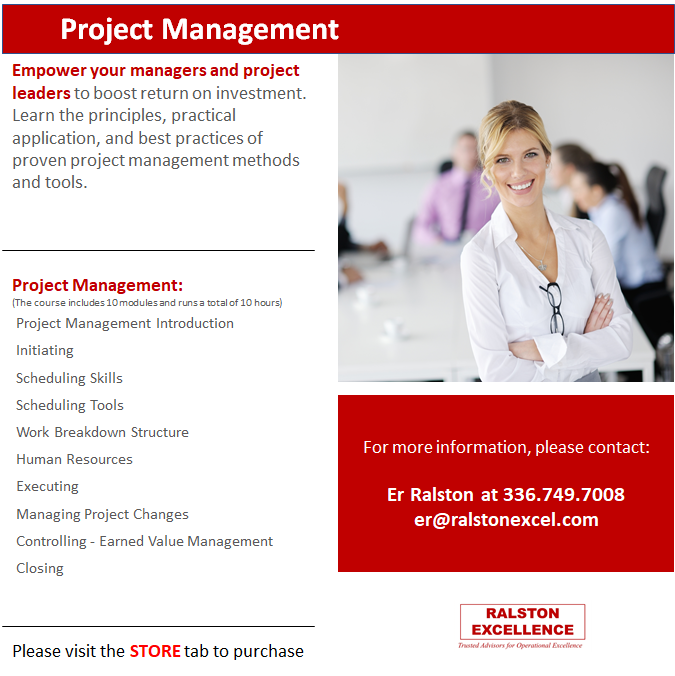 Project Management by Ralston Excellence